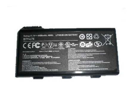 MSI CR700 CR720/MS-1736 CX700 CX705/MS-1737 GE700/MS-1733 BTY-L74 BTY-L75 batteri (kompatibel)