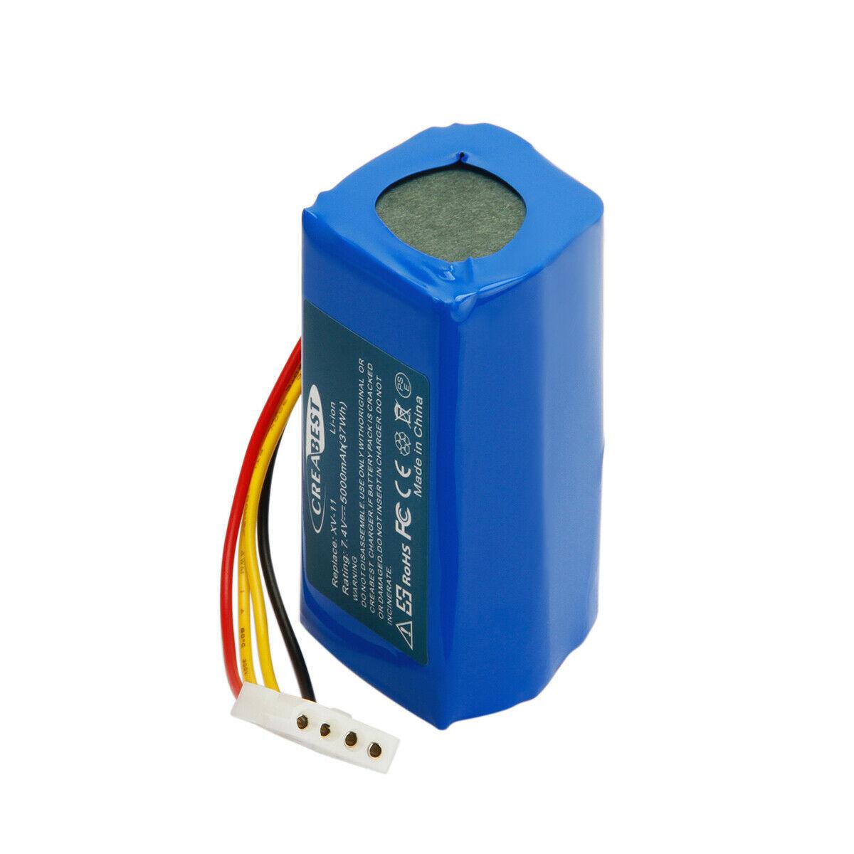 7.4V 5000mAh Li-Ion Neato 945-0005,945-0006,945-0024,205-0001,XV-11,XV-14 (kompatibelt batteri)