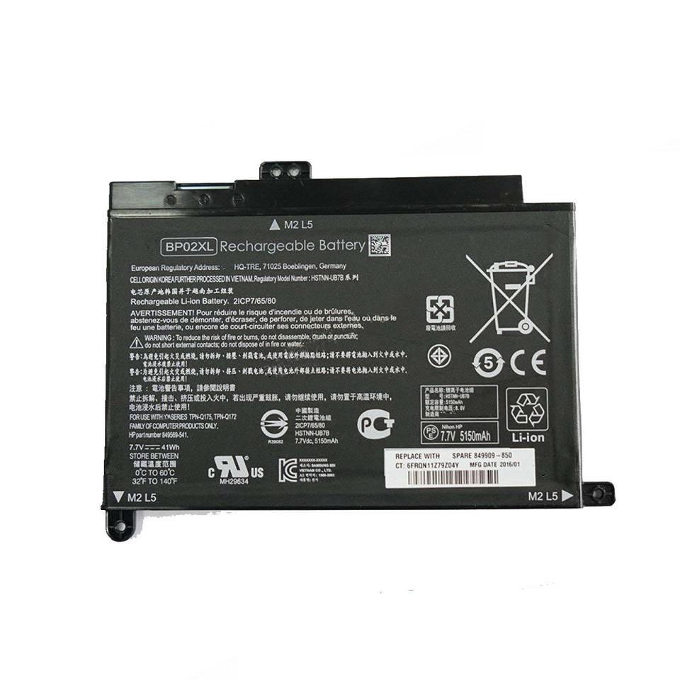 HP Pavilion 15-AW017NG 15-AW017NO 15-AW017UR 15-AW018AX (kompatibelt batteri)