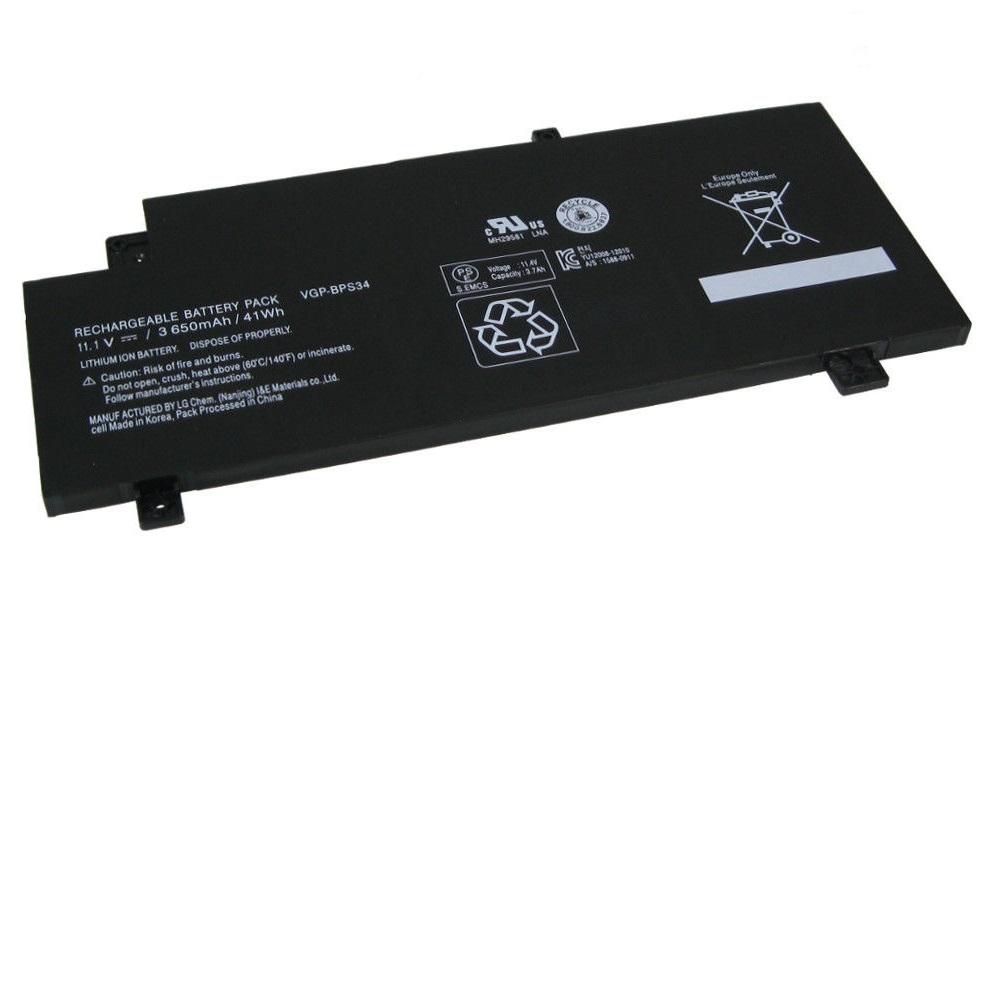 Sony VAIO-CA48 VGP-BPL34 VGP-BPS34(kompatibelt batteri)
